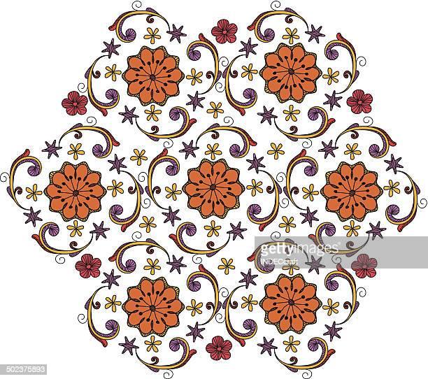 Doodle Circle Design