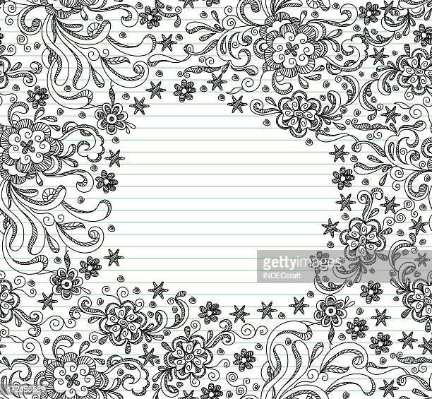 Doodle Seamless Frame