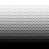 Retro Dotted gradient vector illustration Texture