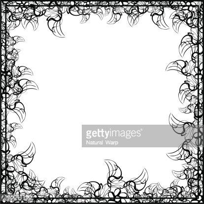 double frame vector art