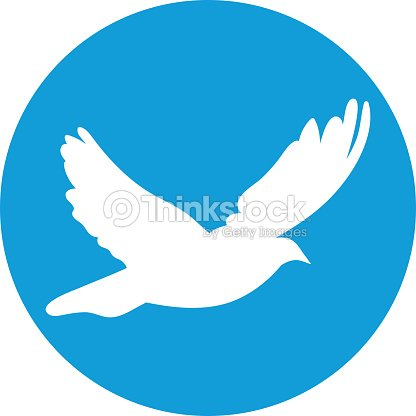 Dove For Peace Concept Wedding Design Flying Dove White