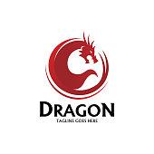 Dragon, Animal, head, Monster