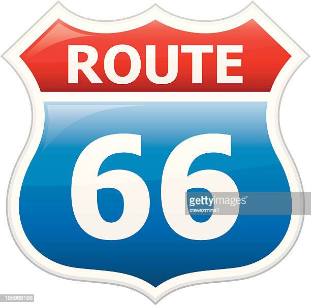 Route 66 Vector Art And Graphics Getty Images