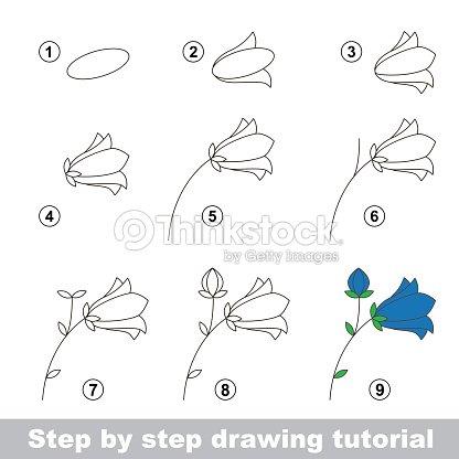 Desenho tutorial como desenhar um camp nula arte vetorial for Disegni da copiare a mano facili
