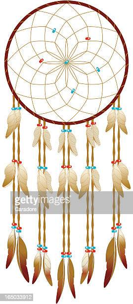 Dreamcatcher vector art and graphics getty images for Dream catcher graphic