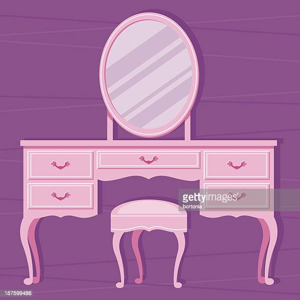 Dressing Table Stock Illustrations And Cartoons Getty Images