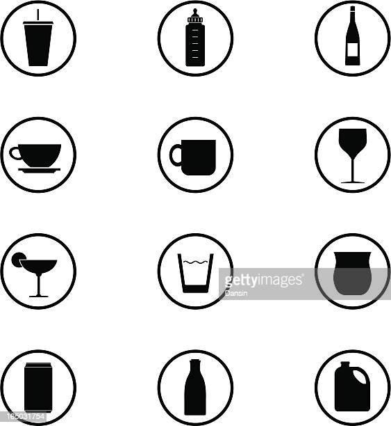 Getränke Icon-Set