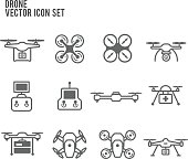 Drone Quadrocopters Collection