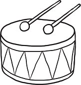 Drum Vector Art | Thin...