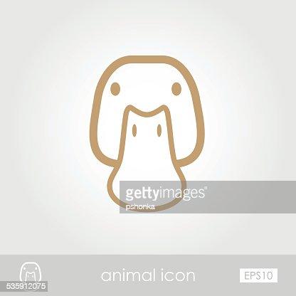 Duck icon : Vector Art