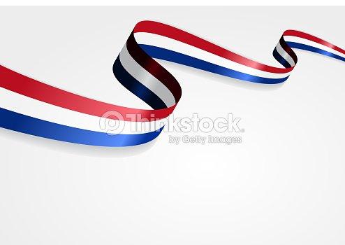 Sfondo Della Bandiera Olandese Illustrazione Vettoriale Arte