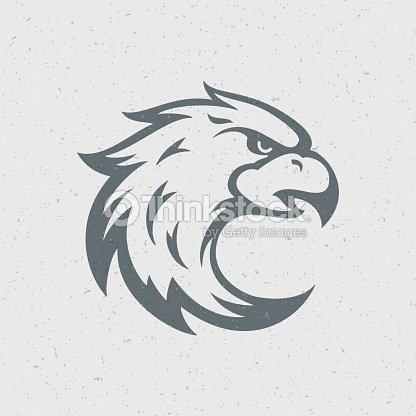 Eagle Head Logo Emblem Template stock vector - Thinkstock
