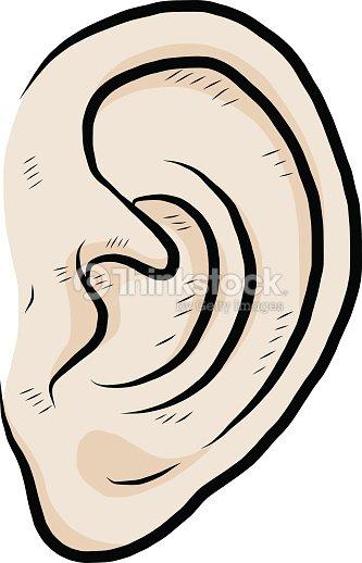 Oreille clipart vectoriel thinkstock - Clipart oreille ...