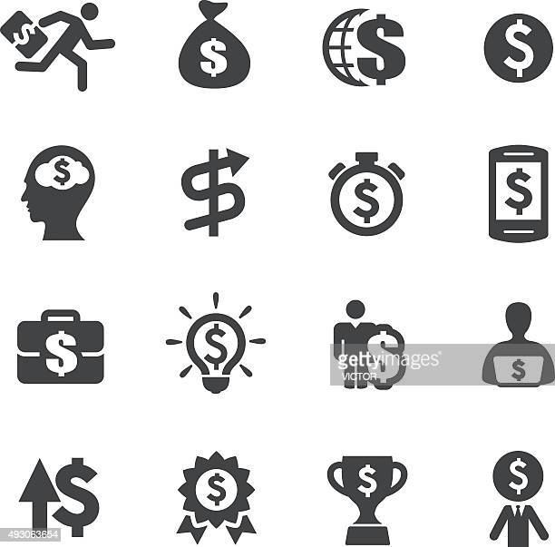 Earn Money Icons - Acme Series