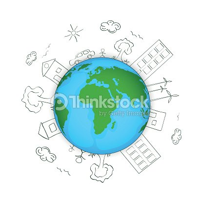 Earth day concept with globe vector art thinkstock earth day concept with globe vector art ccuart Image collections
