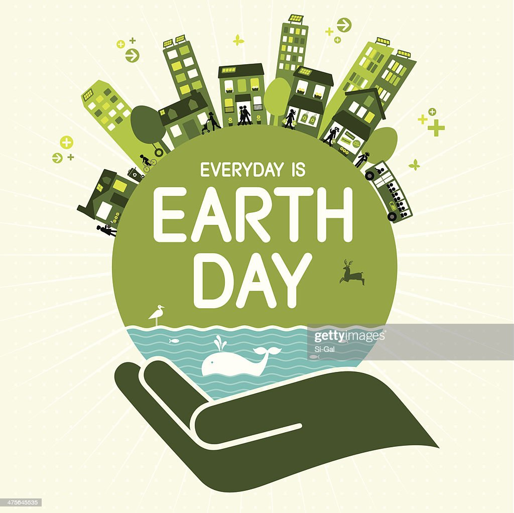 earth day vector art getty images