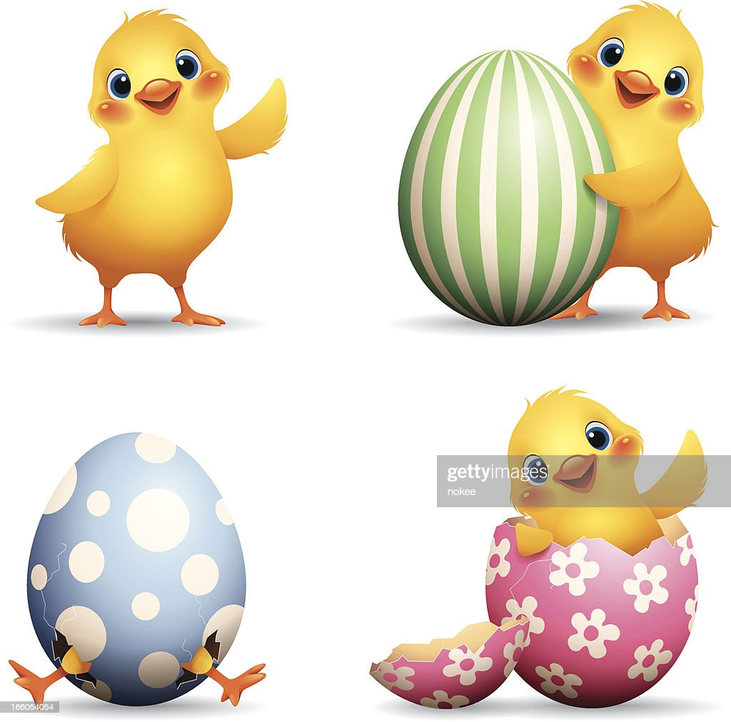 easter set vector art getty images