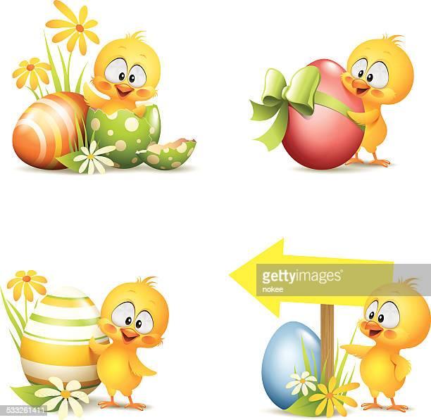 Easter - Chick Set