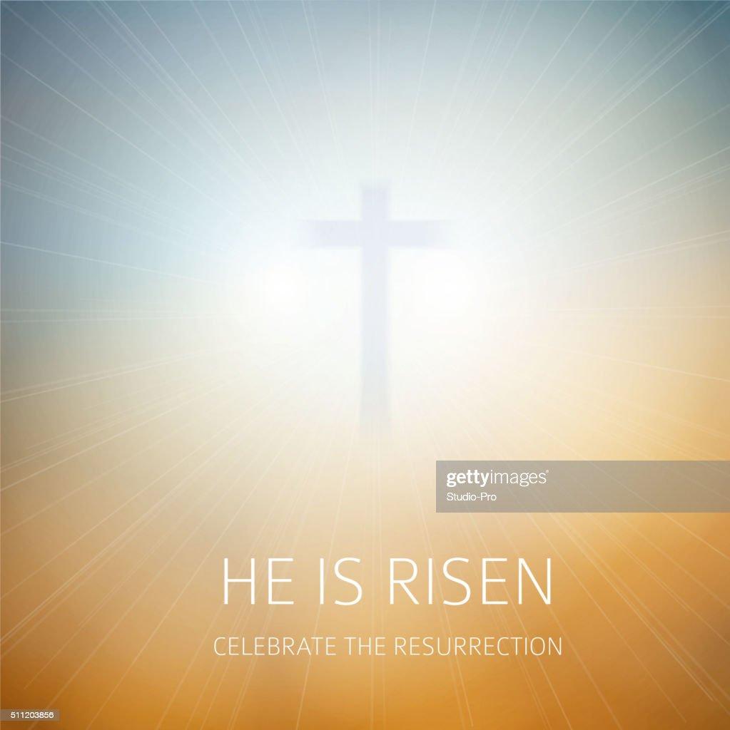 easter christian background resurrection vector art getty images