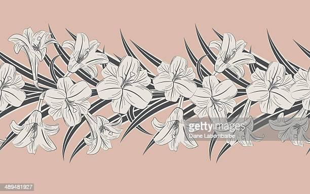 Easter Lilly Border