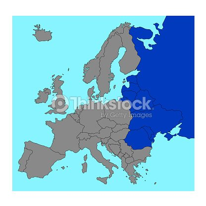 Eastern Europe Countries Map Vector Art | Thinkstock