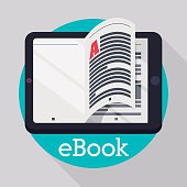 Ebook digital design, vector illustration eps 10.