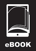 ebook graphic design , vector illustration