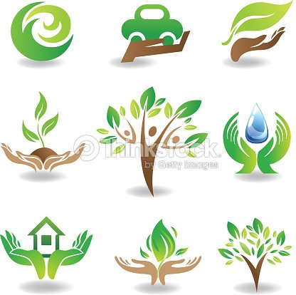 Elementi di design eco arte vettoriale thinkstock for Elementi di design