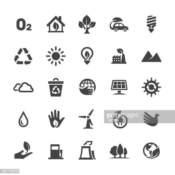 Ökologie-Icons - Smart-Serie