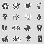 Eco, Energy, Ecology, Green Energy, Nature, Sticker