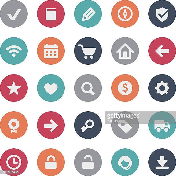 E-commerce And Web Icons - Bijou Series