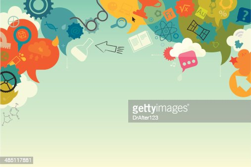Education Background Vector Art   Getty Images