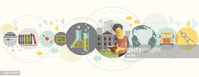 education concept design : Vector Art