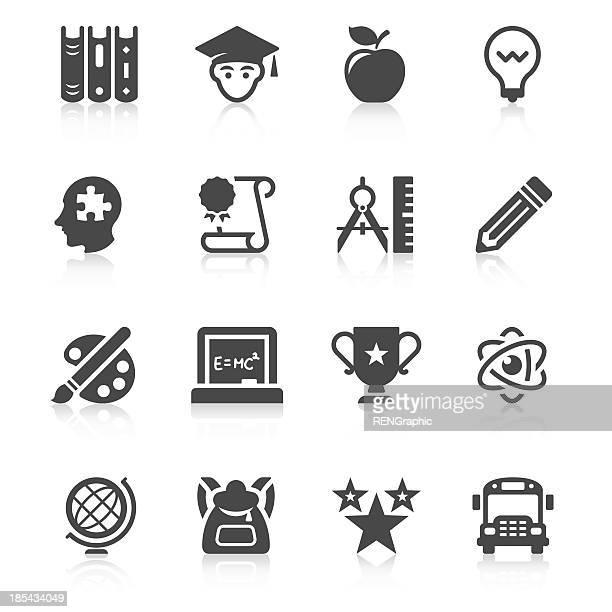 Education Icon Set | Unique Series