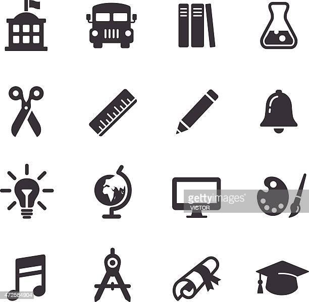 Iconos educación-Serie Acme