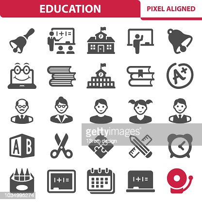 Education Icons : stock vector