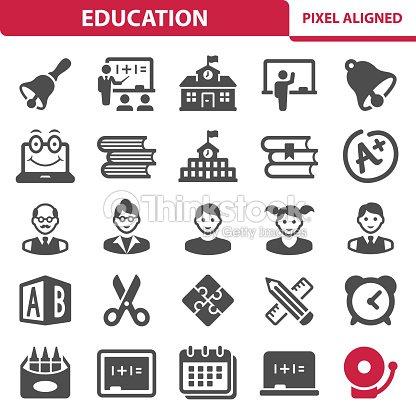 Bildung Symbole : Vektorgrafik