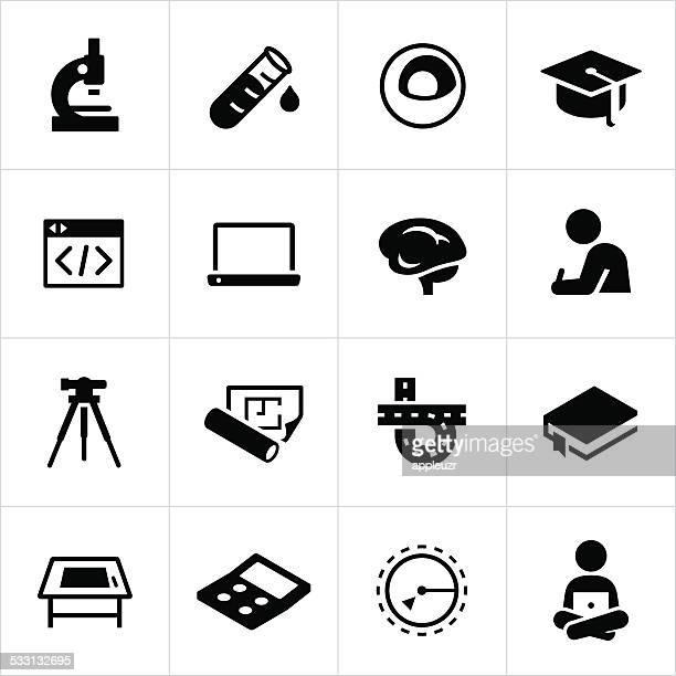 Iconos de educación madre