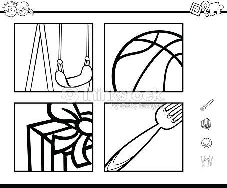 Actividad Educativa Libro Para Colorear Arte vectorial | Thinkstock