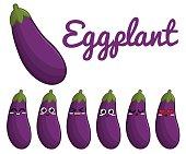 Eggplant character