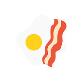 This is flat food icon