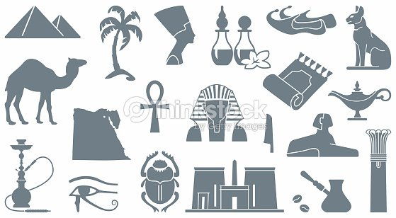 Egyptian Symbols Vector Art Thinkstock