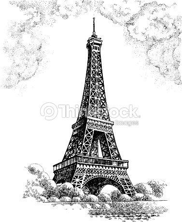 Eiffel tower vector art thinkstock eiffel tower vector art thecheapjerseys Image collections