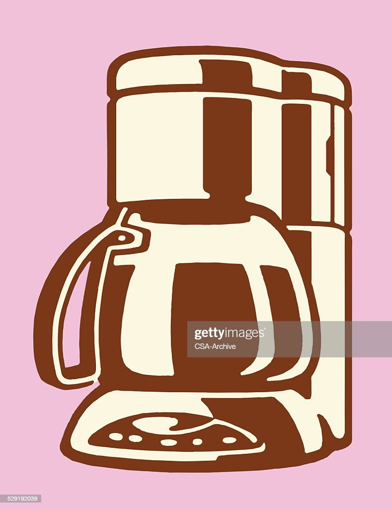 Electric Coffee Maker Vector Art Getty Images