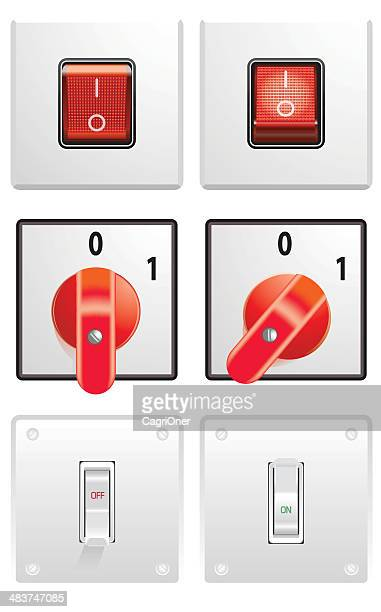 fuse box vector art and graphics getty images electric switches