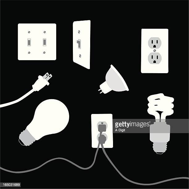 Electrical Elements Vector