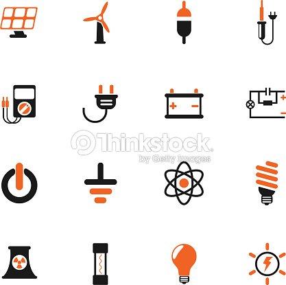 Elektrizität Iconset Vektorgrafik | Thinkstock