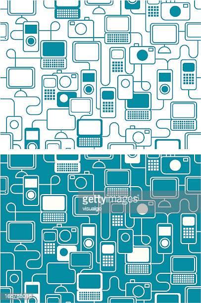 Textura de productos electrónicos