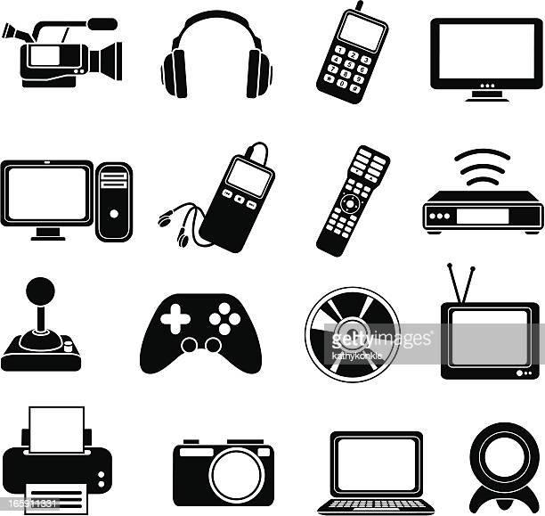Iconos de electrónica
