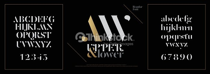 Elegant alphabet letters font set. Classic Custom Lettering Designs for logo, Poster. Typography fonts classic style, regular uppercase, lowercase and number. vector illustration : stock vector